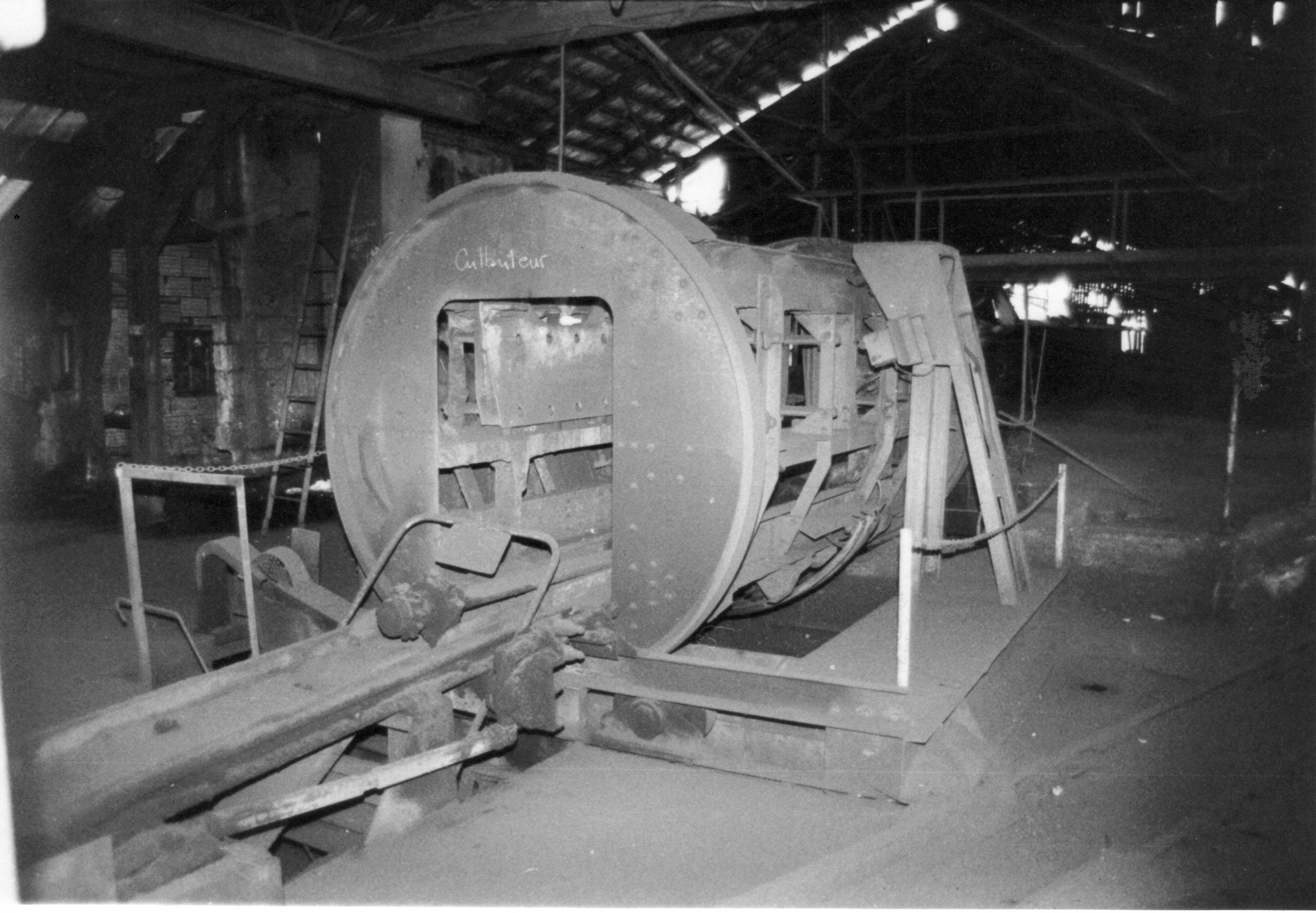 histoire du musée de la mine de Messeix-le culbuteur