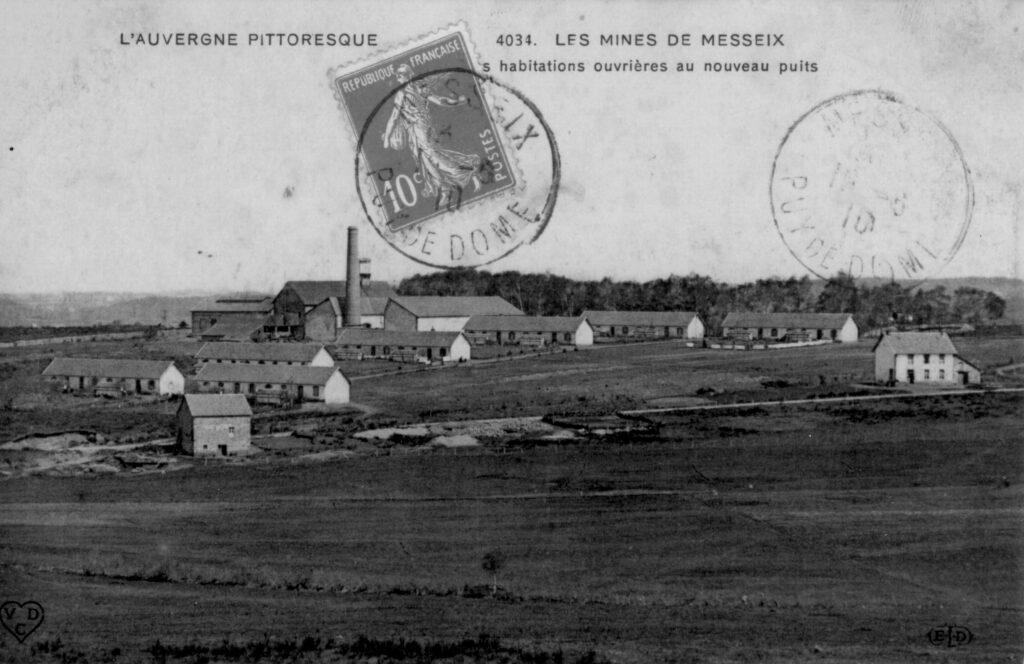 l'histoire de la mine de Messeix va de pair avec la construction de logements ouvriers