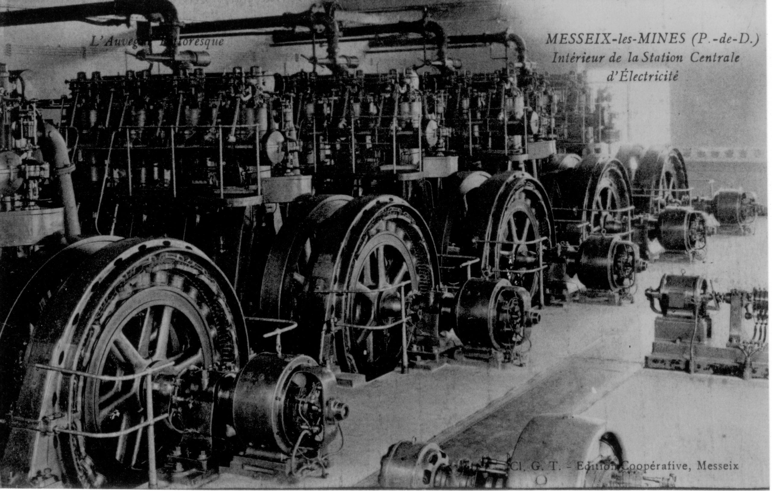 histoire de la mine de Messeix - Le Puits TEYRAS
