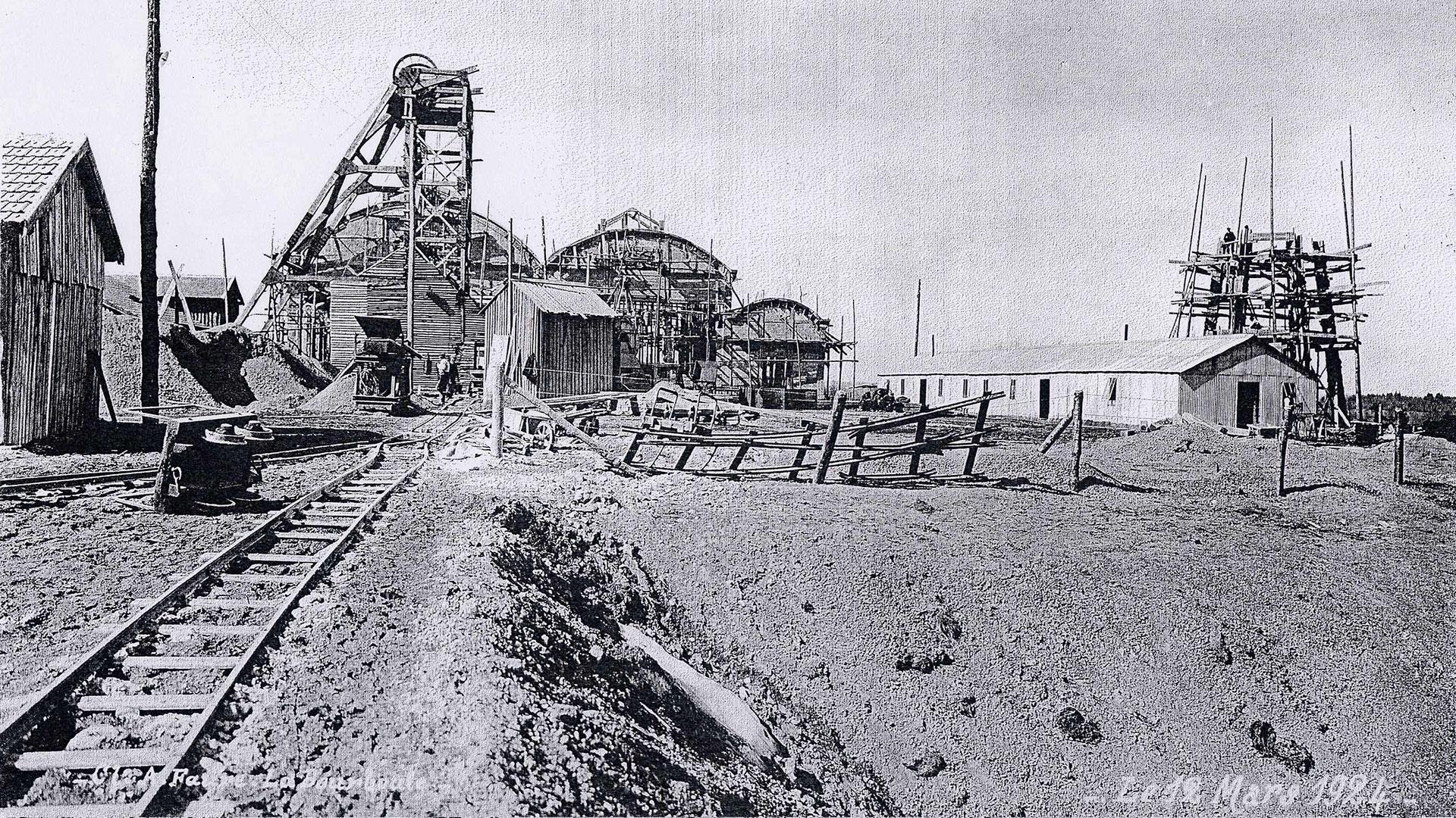 histoire-mine de Messeix -1924 -puits Saint-Louis