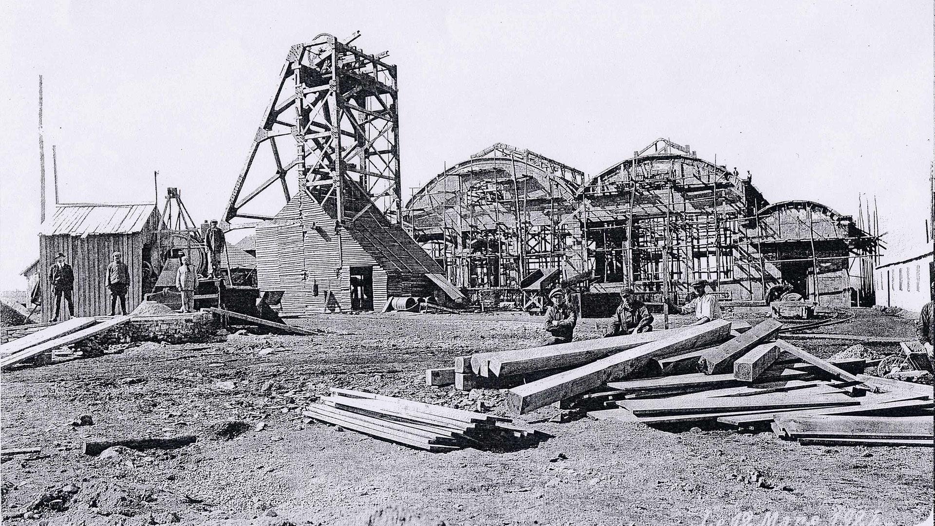 histoire-mine de Messeix -chantier du puits Saint-Louis-mine de Messeix -histoire
