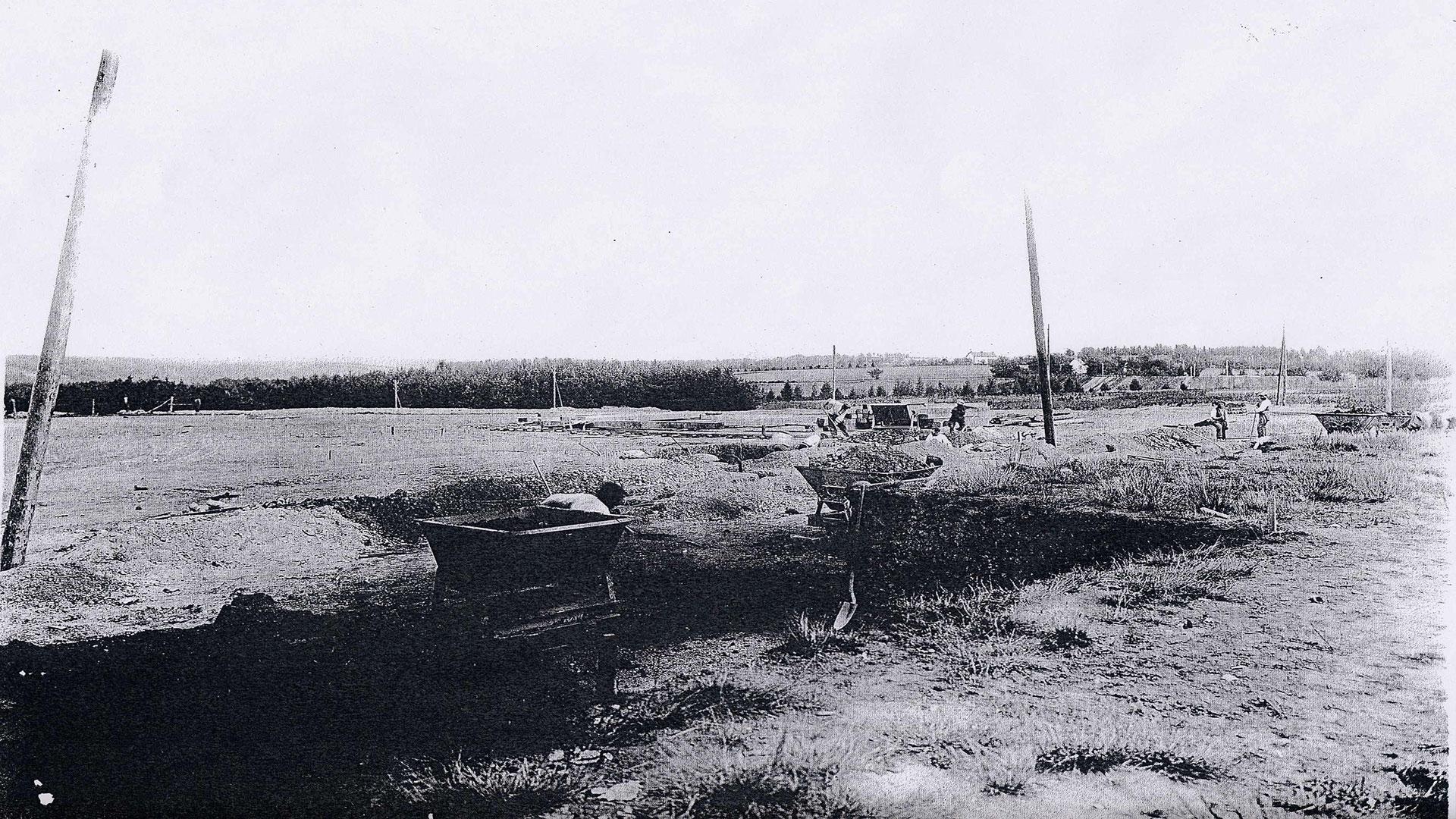 histoire-mine de Messeix -les premiers coups de pioche en 1923-